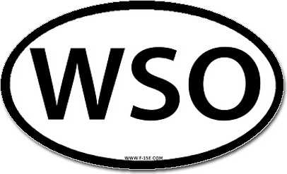WSO sticker, just $4.00!